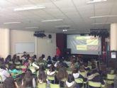 Lorenzo Albaladejo habla de deporte y motivación a los alumnos de los institutos de Secundaria  del municipio