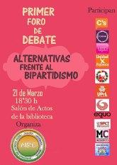 AIRE reune a las principales fuerzas políticas alternativas al bipartidismo en Ricote