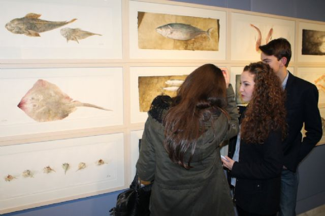 Pedro Cano fascina a mazarroneros y visitantes con su genial homenaje al mar, Foto 3