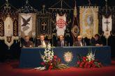El alcantarillero Fray Pascual Gil Almela anunció la Semana Santa en el pregón que ayer se celebró en Alcantarilla