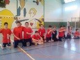 Totana acogió la 3ª prueba de la liga regional en edad escolar de bádminton