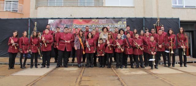 Puerto Lumbreras acogióel XIII Encuentro de Bandas de Semana Santa - 2, Foto 2