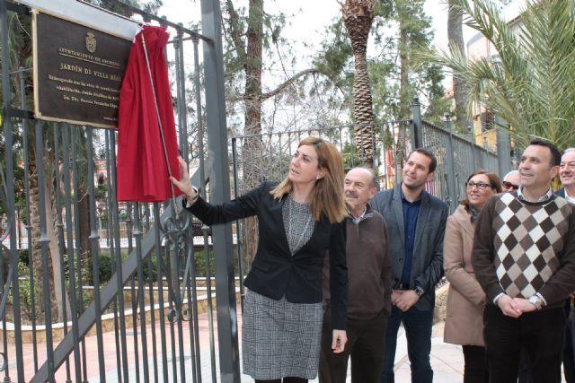 La Alcaldesa visita las obras de renovación del abastecimiento de agua de la calle Enrique Salas - 1, Foto 1