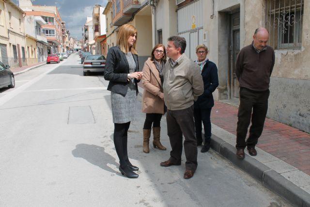 La Alcaldesa visita las obras de renovación del abastecimiento de agua de la calle Enrique Salas - 3, Foto 3