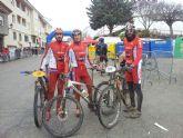 El CC Santa Eulalia estuvo presente en la 8ª prueba del circuito btt de Albacete, en Tarazona