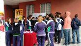 Juventud instala mesas informativas en centros educativos con motivo del Día de la Eliminación de la Discriminación Racial
