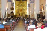 Carmen Navarro Carlos protagoniza el pregón de la Semana Santa en la parroquia de Santiago El Mayor