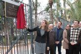 La Alcaldesa visita las obras de renovación del abastecimiento de agua de la calle Enrique Salas