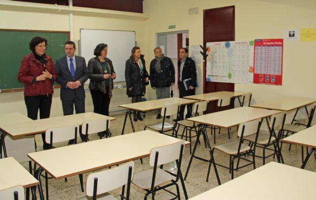 El Ayuntamiento y al CARM centralizarán el Centro Educación de Adultos y la Escuela de Idiomas en las instalaciones del antiguo CEIP Sagrado Corazón - 2, Foto 2
