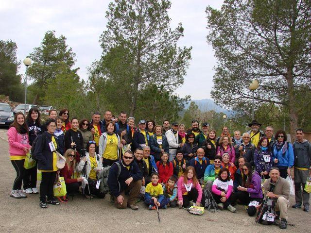 Amigos de la naturaleza celebran el día del senderista con un encuentro en Pliego, Foto 1