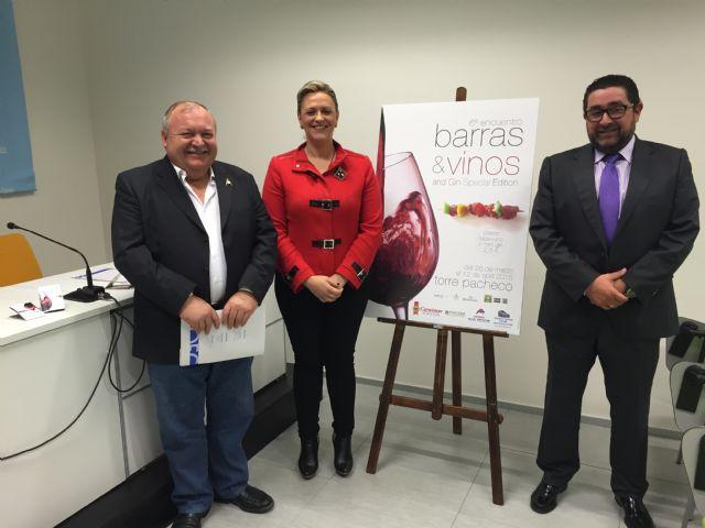 """Un viaje de sensaciones en Torre-Pacheco con el sexto encuentro de """"Barras y Vino"""" - 1, Foto 1"""