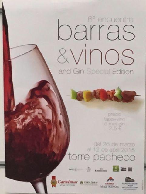 """Un viaje de sensaciones en Torre-Pacheco con el sexto encuentro de """"Barras y Vino"""" - 2, Foto 2"""