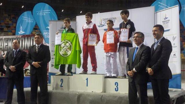 El taekwondista pachequero, Joaquín Albaldejo Cegarra, se clasifica para el Mundial de Taekwondo de Corea - 1, Foto 1