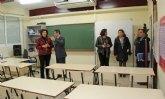 Educación centralizará las instalaciones del Centro de Educación de Adultos y la EOI de Puerto Lumbreras en el antiguo CEIP Sagrado Corazón