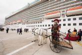 Britannia deja más de tres mil turistas en Cartagena