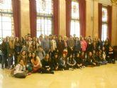 Estudiantes del colegio Santa Isabel de Alquerías participan en un proyecto Comenius