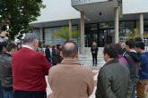 San Pedro del Pinatar guarda un minuto de silencio por las víctimas del accidente aéreo