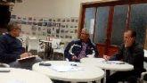 El equipo de Pedro López Milán se reúne con los colectivos vecinales de Roche y Portmán