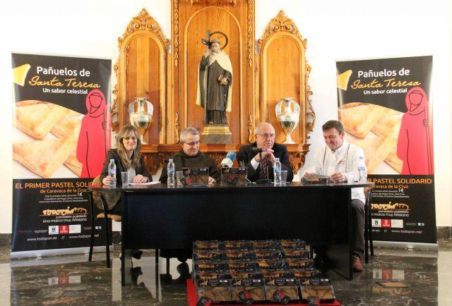 Lanzan el dulce solidario Pañuelos de Santa Teresa que recaudará fondos para la Residencia de Ancianos - 2, Foto 2