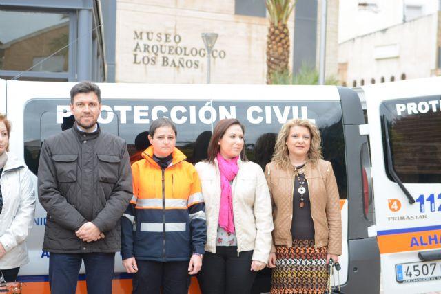 El Ayuntamiento dota con una nueva furgoneta a Protección Civil, Foto 2