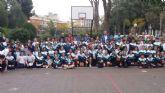 El colegio Carmelitas recibió al UPCT Basket Cartagena dentro del Programa ADE