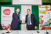 AJE y MercaMurcia se unen para fomentar la creación y consolidación empresarial