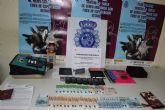 La Policía Nacional desmantela un prostíbulo y punto de venta de drogas en la capital