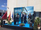 El Alcalde de Molina de Segura y el Consejero de Industria visitan la empresa molinense Industrias Peñalver, pionera en la fabricación de maquinaria