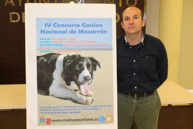 Este domingo 29 de marzo se celebra el IV Concurso Nacional Canino de Mazarrón, Foto 1