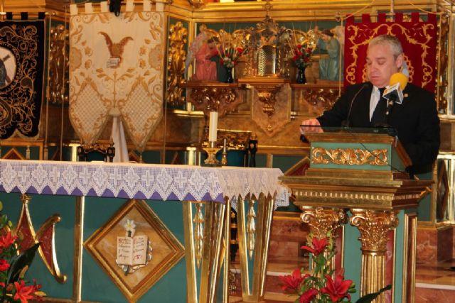 Ginés Campillo emociona y llama a trasmitir la fe con su pregón de Semana Santa, Foto 5