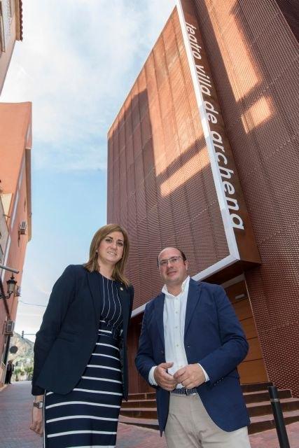 Pedro Antonio Sánchez afirma que recuperamos y abrimos espacios para la cultura y los vecinos como el nuevo Teatro Villa de Archena - 3, Foto 3