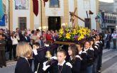 Puerto Lumbreras celebró su Procesión Infantil