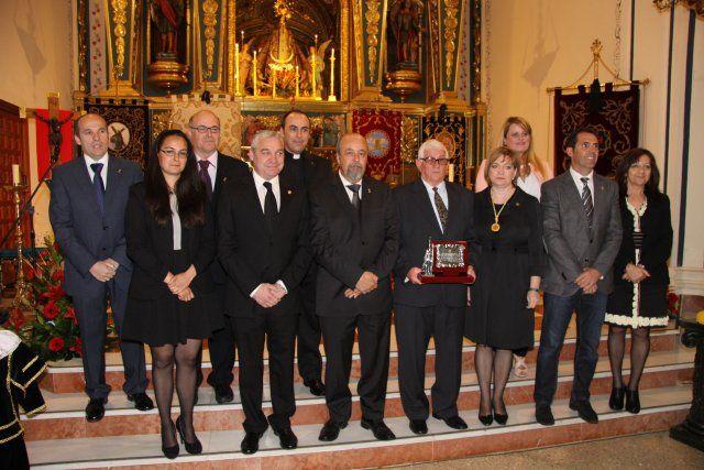 Antonio Balanza y Ginés Campillo pregonan las semanas santas del municipio, Foto 1