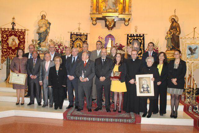 Antonio Balanza y Ginés Campillo pregonan las semanas santas del municipio, Foto 2