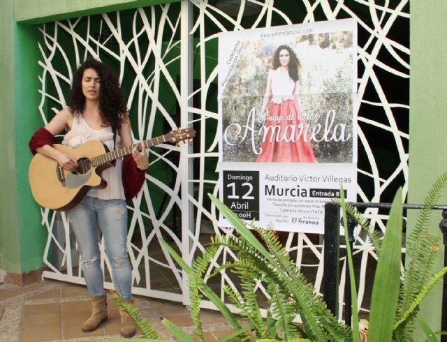 La cantautora lumbrerense Amarela presenta su nuevo disco El viaje de la luz - 1, Foto 1