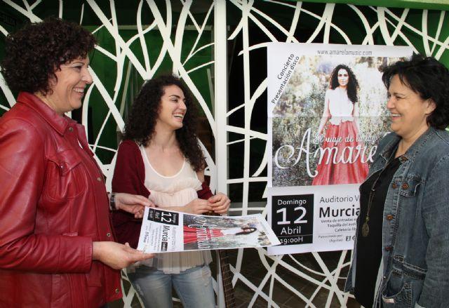La cantautora lumbrerense Amarela presenta su nuevo disco El viaje de la luz - 2, Foto 2