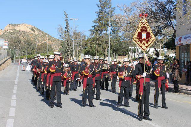 Domingo de palmas, ramos y tambores en Mazarrón y Puerto de Mazarrón, Foto 1