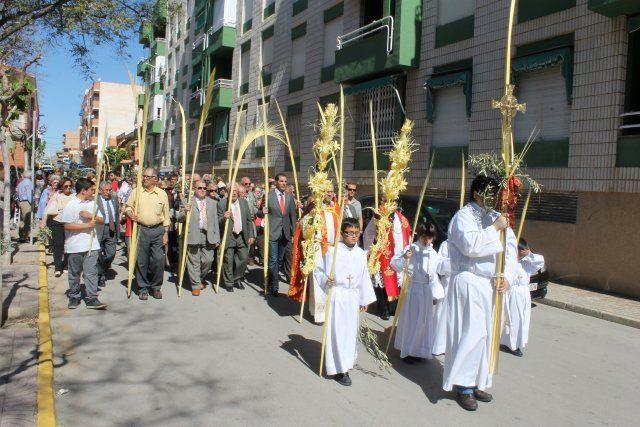Domingo de palmas, ramos y tambores en Mazarrón y Puerto de Mazarrón, Foto 5