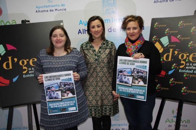 La Concejalía de Cultura en colaboración con la asociación D´Genes presenta la exposición