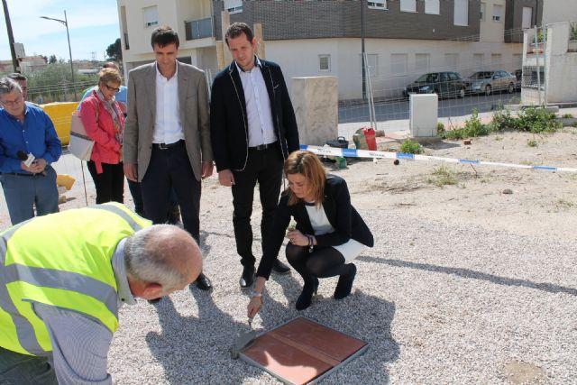 La Alcaldesa coloca la primera piedra del edificio que albergará un nuevo Centro y las dependencias de la Policía Local - 1, Foto 1