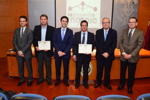 El Colegio de Ingenieros Técnicos ha entregado hoy el Premio INGENIA a un SISTEMA DE RIEGO DE SOCORRO - 1, Foto 1