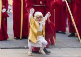 La procesión de la Burrica culmina los primeros actos de la Semana Santa cartagenera