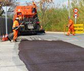 Finalizan los trabajos de acondicionamiento del camino de la Corte del Paraje de Alguazas