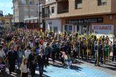 El municipio celebra el Domingo de Ramos con las procesiones de Las Palmas y la de Jesús Triunfante