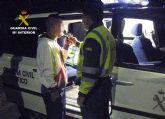 La Guardia Civil detiene a un conductor por circular en sentido contrario durante cuatro kilómetros