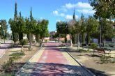 Concluyen los trabajos de mejora del parque Doctor Chazarra de Alguazas, que han permitido la ampliación y mejora de su zona infantil