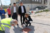 La Alcaldesa coloca la primera piedra del edificio que albergará un nuevo Centro y las dependencias de la Policía Local