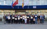 Entregados los diplomas del curso de competencias laborales para jóvenes desempleados en Las Torres de Cotillas