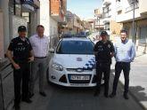 La Policía Local de Ceutí suma otro vehículo a su flota de servicio