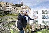 Pedro Antonio Sánchez resalta la recuperación social, empresarial y cultural que supone el conjunto histórico-artístico de Cehegín con ´El Coso´